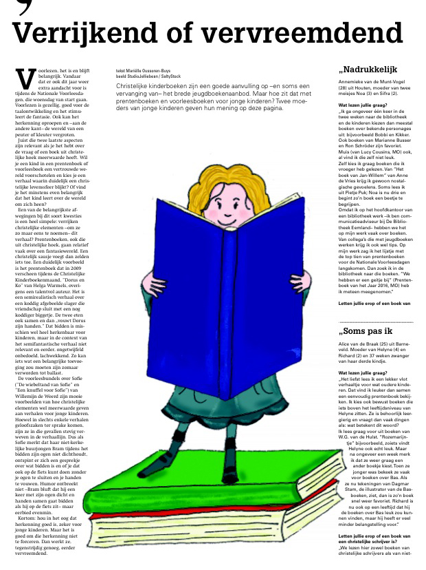 Illustratie Reformatorisch Dagblad