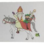 Kaart 'Sint, Piet en Amerigo'