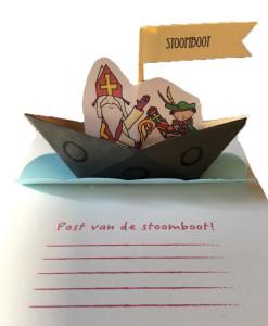 Kaart 'Stoomboot'