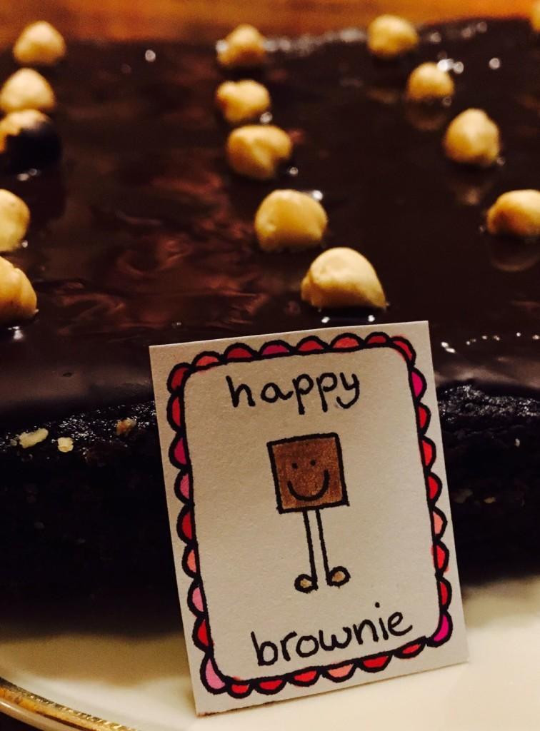 Happy brownie